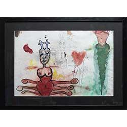 1032 - Vrouwelijke octopus