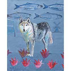 1059 - Wolf in Nederland - Glicée